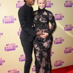 Wiz Khalifa и Amber Rose на церемоний MTV VMA