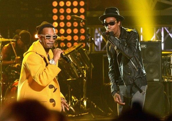 Wiz Khalifa на 2012 BET Hip-Hop Awards. Фото