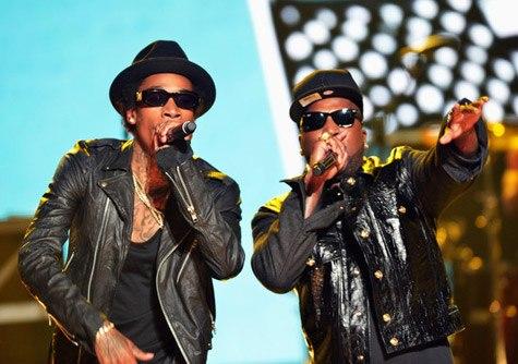 Выступление Wiz'a, при участии Young Jeezy и Juicy J