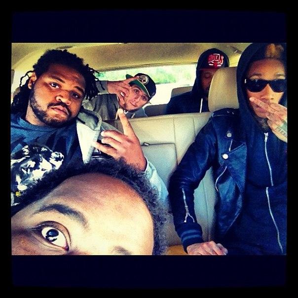 Новые фотографий Wiz Khalifa и его бригады Taylor Gang