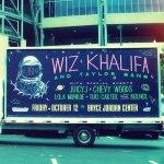 Сегодня Wiz Khalifa и главные участники его лейбла «Taylor Gang» отправляются в турне «The 2050 Tour»
