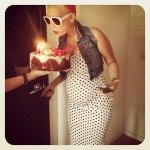 Фотографий со дня рождения Amber Rose