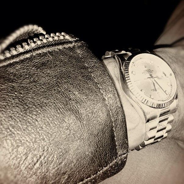 Wiz Khalifa купил себе Rolex стоимостью около 30 000 $.