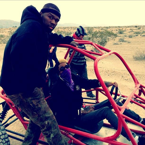Wiz Khalifa и 50 Cent