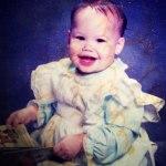 Пока Amber Rose ждет малыша, посмотрим на ее детские фотографии