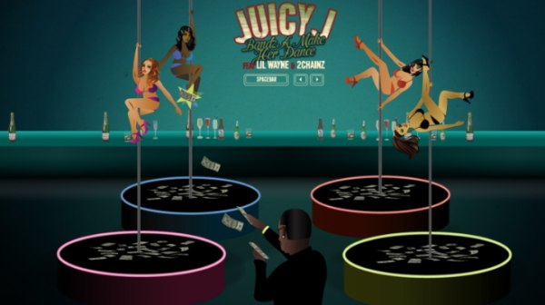 Juicy J запустил собственную игру по мотивам трека Bandz Make Her Dance.