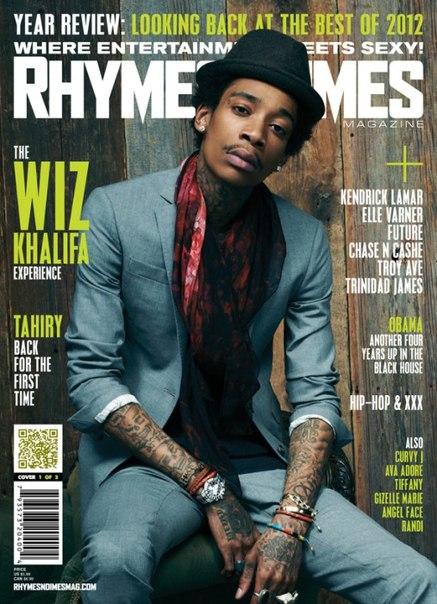 Wiz попал на обложку журнала Rhymes & Times.