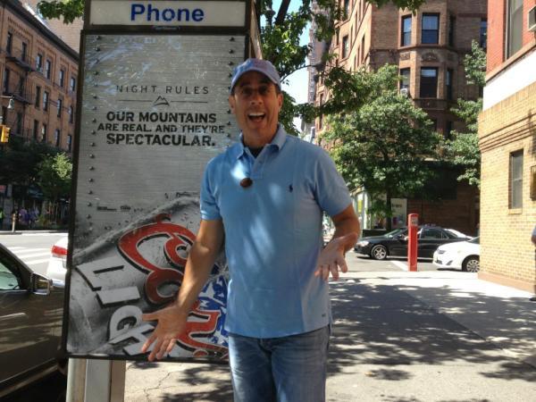 Вашему вниманию представляется небольшое интервью Jerry Seinfeld