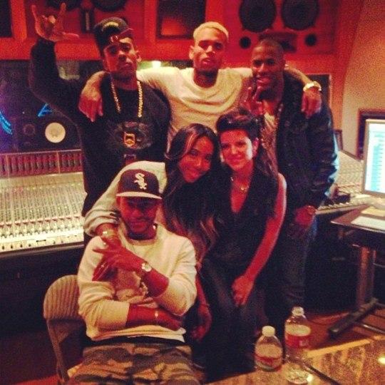 Chris Brown и Frank Ocean подрались на студии в L.A