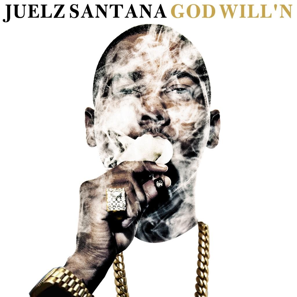 """Wiz появится на грядущем микстейпе у Juelz'a Santan'ы - """"God Will'n""""."""