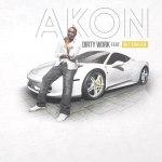Официальная обложка недавно вышедшего сингла Akon'a — «Dirty Work», при участии Wiz'a.