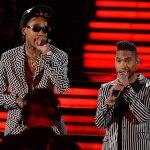 Смотрим и наслаждаемся выступлением Miguel'a с Wiz'ом, на церемонии «Grammy 2013»