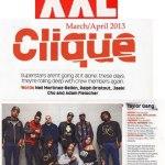 Тэйлоры, во главе с Wiz'ом, попали в мартовско-апрельский номер журнала «XXL».