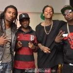 Фото со съёмок клипа на трек Gucci Mane, при участии Wiz'a — «Nothin On Ya».