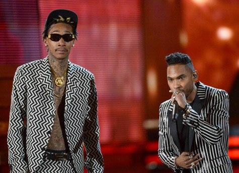 Miguel и Wiz выступили на Grammy с треком Adorn.