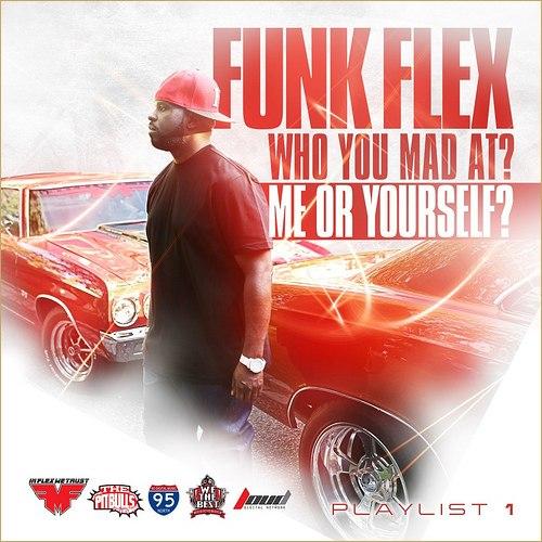 Juicy J появятся на грядущем микстейпе Funkmaster Flex - Who You Mad At Me Or Yourself