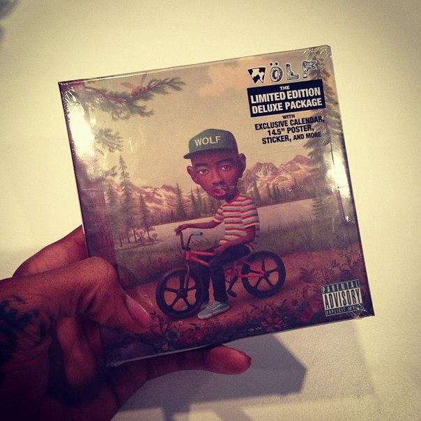Wiz рекомендует купить и послушать новый альбом Tyler'a - «Wolf».