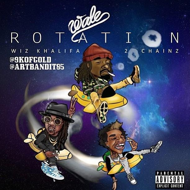 Новый трек от Wale, при участии Wiz'a и 2 Chainz'a.
