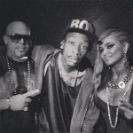 Mally Mall, Wiz Khalifa и Carmen Electra.
