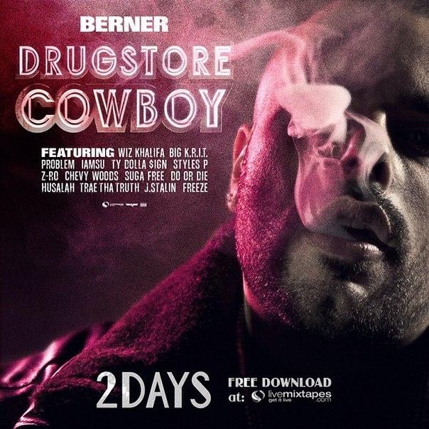 Остаётся чуть больше суток до выхода официального тейпа Berner'a - «Drugstore Cowboy».