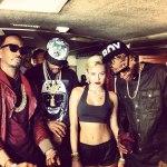Завершены съемки клипа на грядущий сингл «23» от Mike Will Made It с участием Wiz'a, Juicy J и Miley Cyrus.