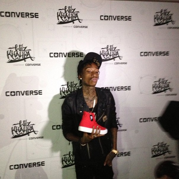 Уже завтра Вы сможете совершить заказ любых понравившихся Вам кроссовок Converse от Wiz Khalifa