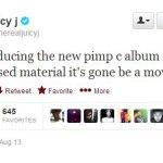Juicy J объявил в Твиттере, что спродюсирует посмертный альбом легендарного рэпера Pimp C