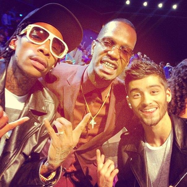 Wiz дал интервью во время церемонии «MTV Video Music Awards 2013»