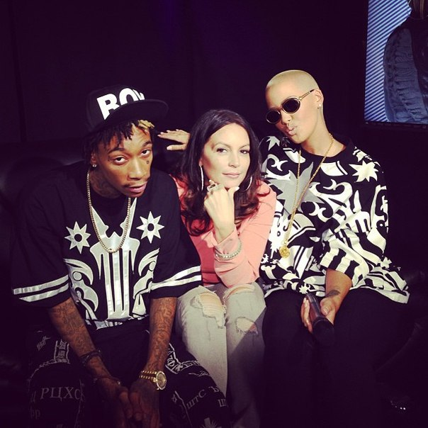 Wiz Khalifa и Amber Rose побывали на радио «Hot 97», где и дали интервью.