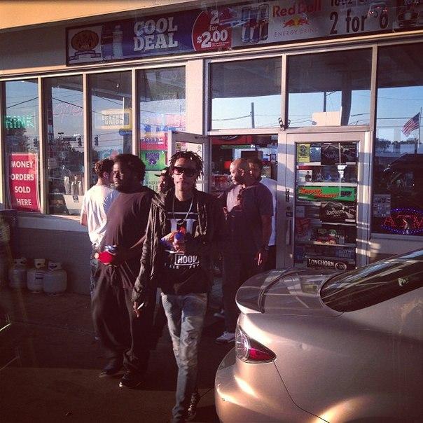 Закулисье тура «Under The Influence» (с участием Wiz Khalifa, A$AP Rocky, B.o.B, Trinidad James, Ty Dolla $ign и др.).