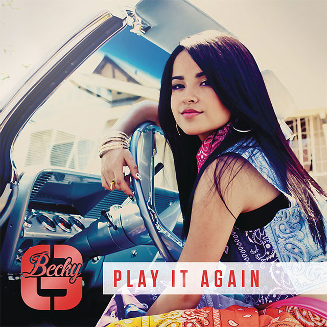 Becky G «Play It Again» с участием Juicy J (Remix)