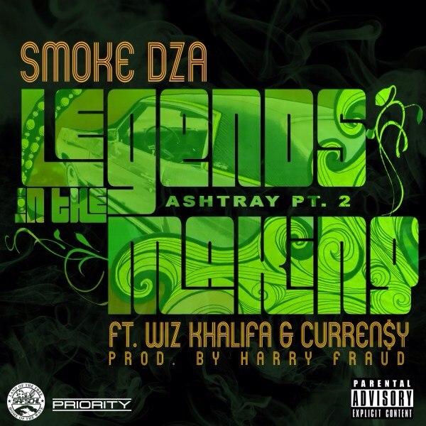 Smoke DZA feat. Wiz Khalifa & Curren$y – Legends In The Making (Ashtray Pt. 2)