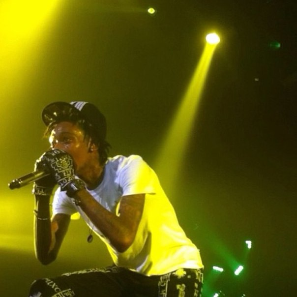 Wiz Khalifa at Smokers Club 2013 Los Angeles