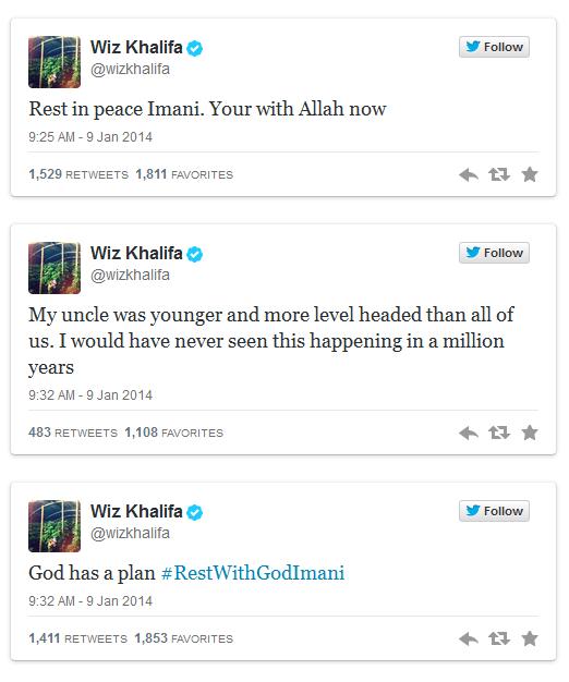 Вот твиты Wiz'a касательно происшествия