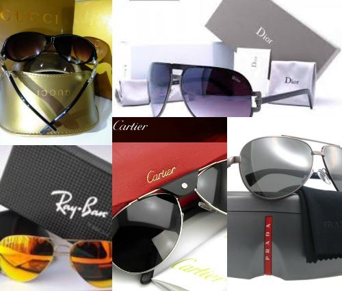 популярные бренды солнцезащитных очков,