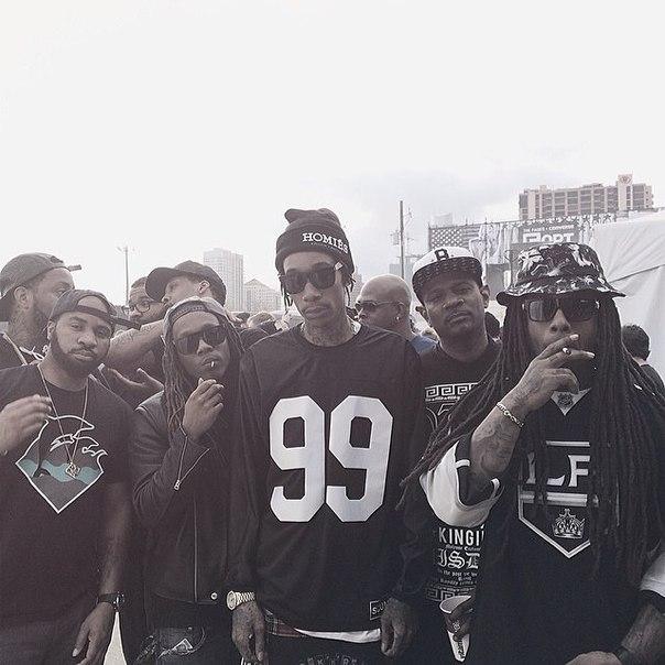 Wiz Khalifa, Young Thug, Vic Mensa и другие выступления на SXSW Fader Fort.