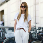 С чем носить белые майки и футболки?